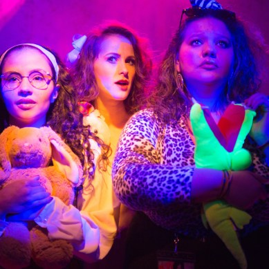 Review: HOT PINK, OR READY TO BLOW at New American Folk Theatre