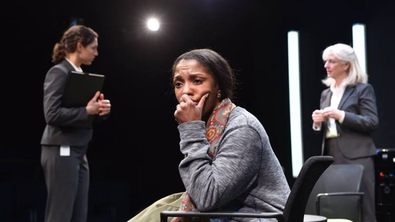 "Review: ""hang"" at Remy Bumppo Theatre Company"