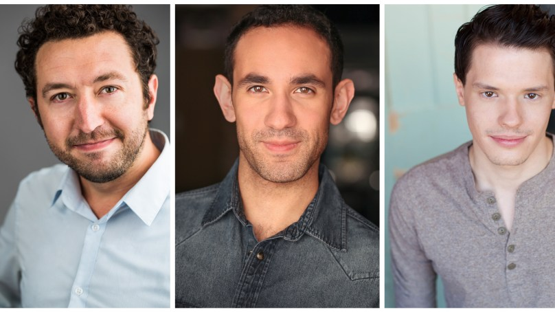 Cast and Design Team Set for TRES BANDIDOS