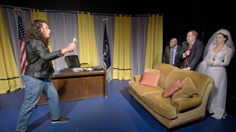 Review: NOVEMBER at Habakkuk Theatre
