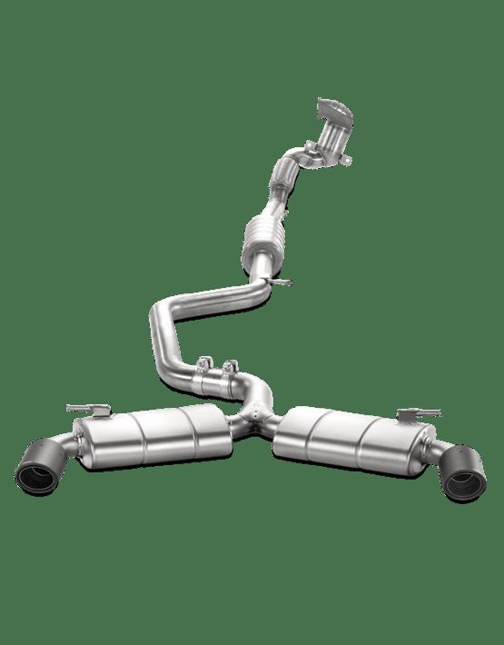 Akrapovic Evolution Abgassystem für BMW M2 F87