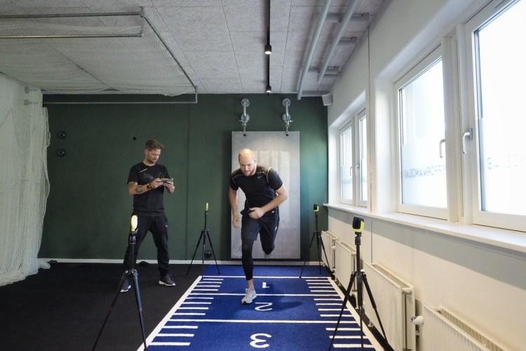 Mål din træning performancelab