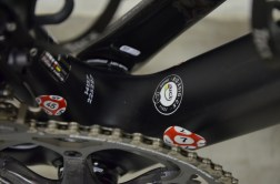 The all-important UCI approval sticker
