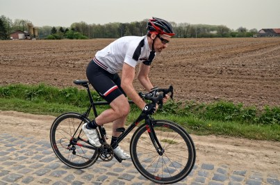 Testing the Ultra kit on cobbles