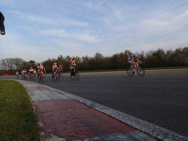 In Belgium they start racing young