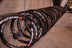 The team rolls on Swiss-made Edco wheels