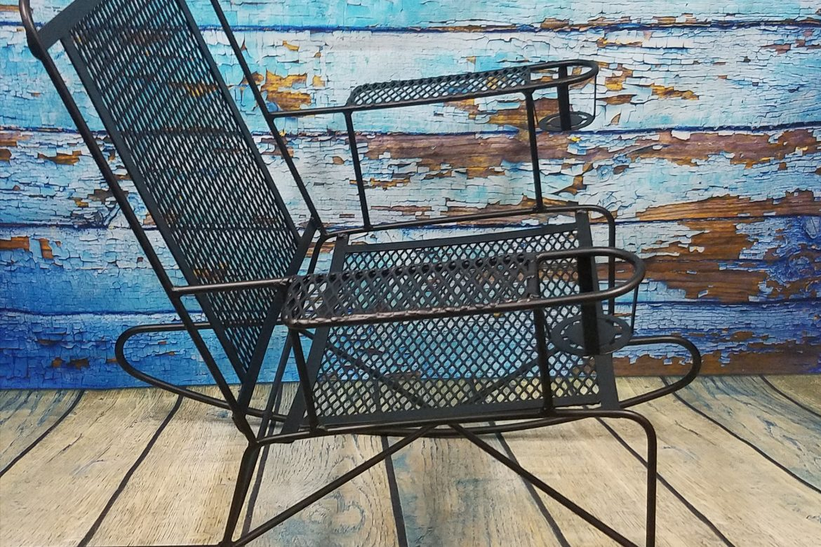 Retro Patio Chair in Fun New Colors  Performance Coatings