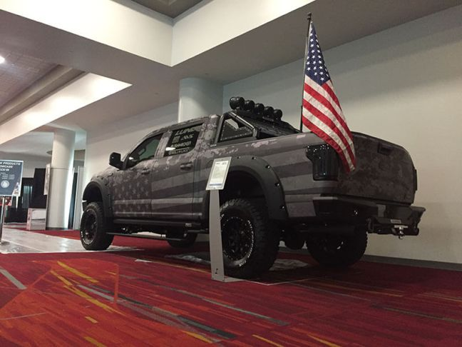 Freedom Ford Has Landed at SEMA!