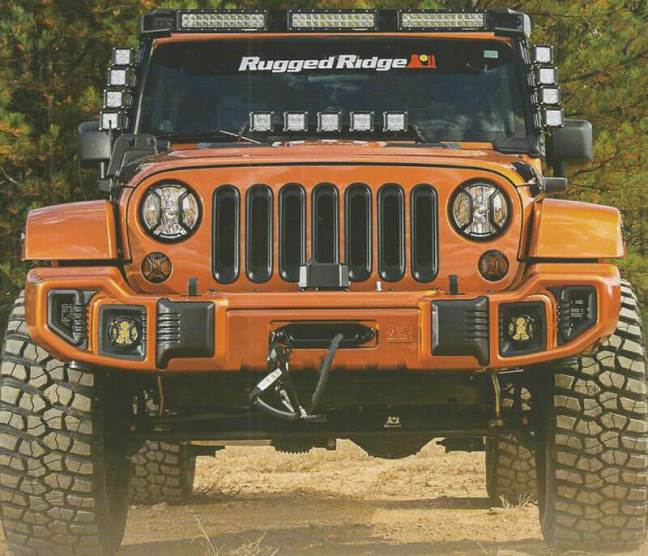 Rugged Ridge (11232.50): Fast Track Accessory Mount