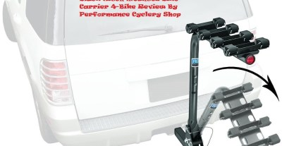 Pro Series 63124 Eclipse Black Hitch Mounted Bike Carrier 4-Bike Review By Performance Cyclery Shop