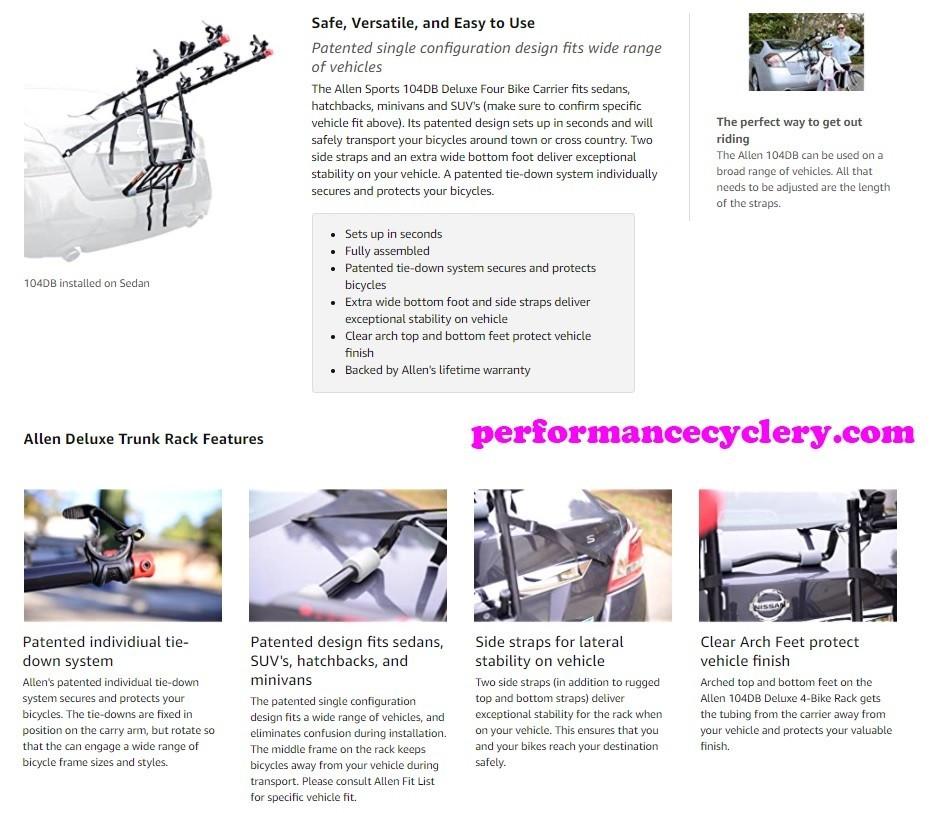 Allen Bike Rack Reviews