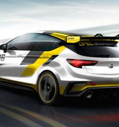 opel astra tcr preview rear [ 1268 x 812 Pixel ]