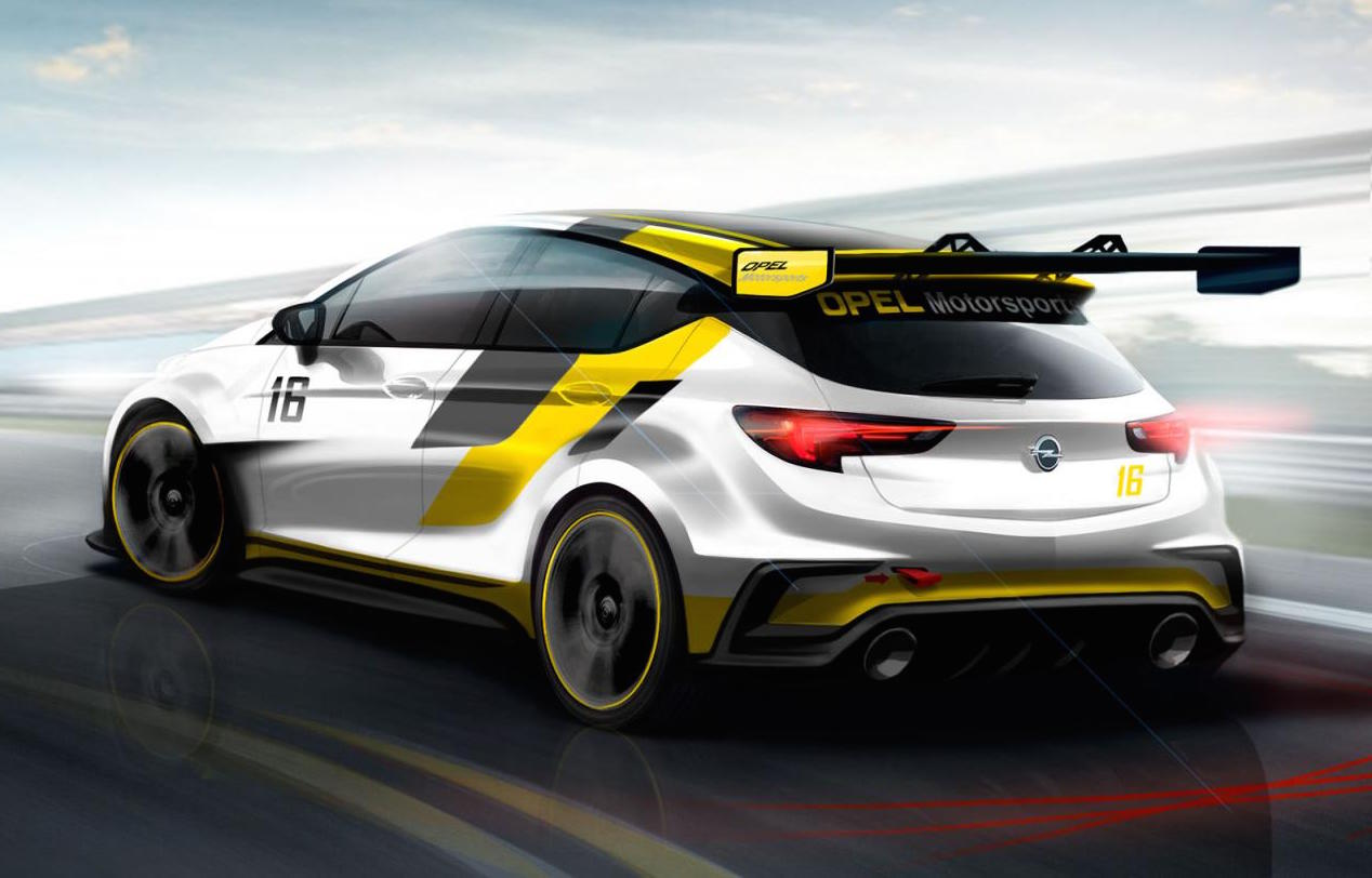hight resolution of opel astra tcr preview rear