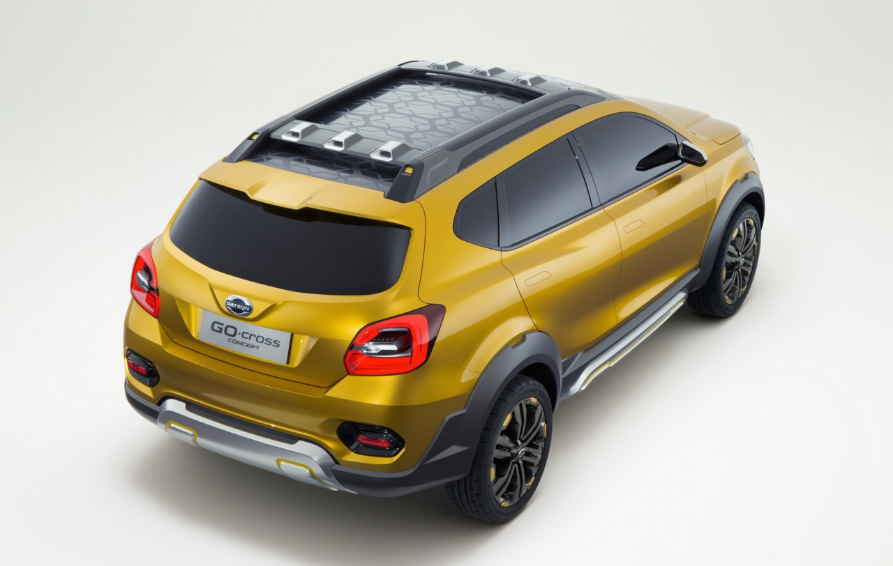 Datsun GO Cross Concept Debuts At Auto Expo PerformanceDrive