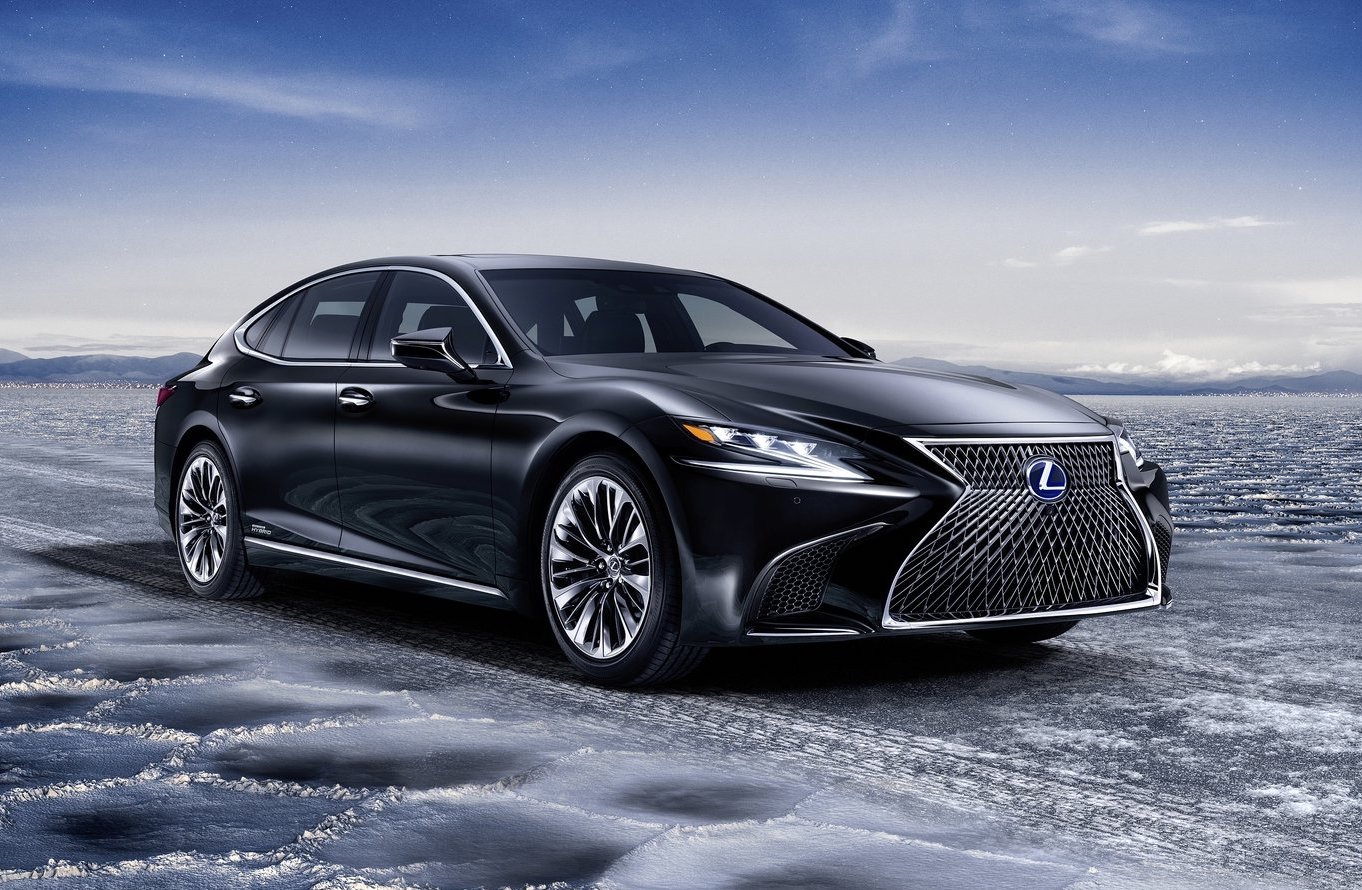 2018 Lexus Ls 500h Hybrid Revealed, Offers Ev Mode Up To