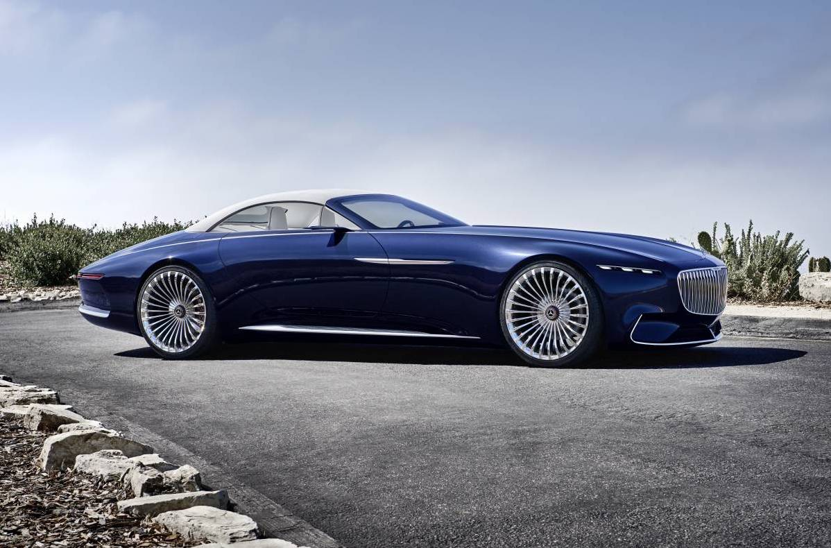 Vision Mercedes Maybach 6 Cabriolet Is One Stunning Drop
