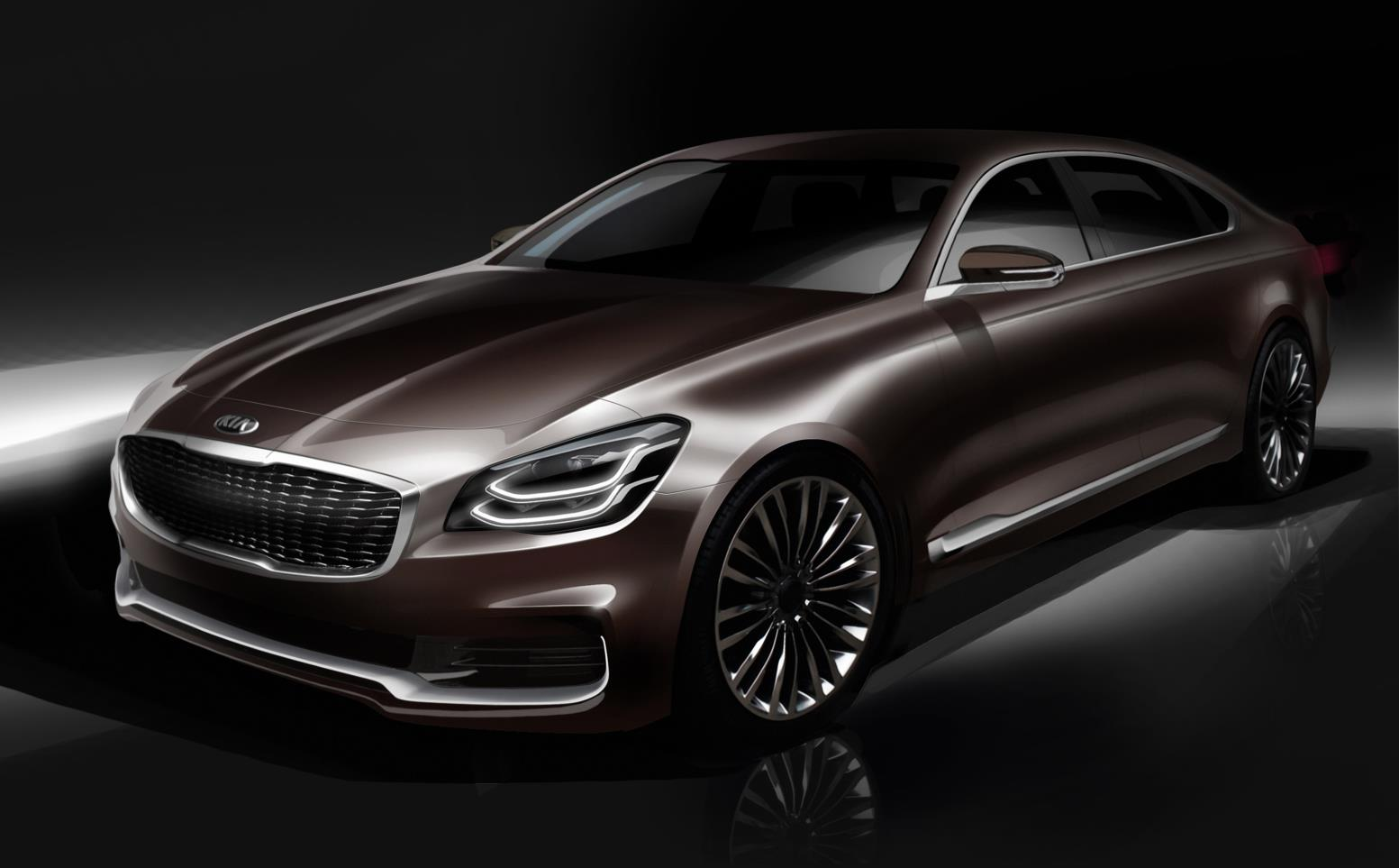 2019 Kia K900 Luxury Flagship Redesign To Debut At New