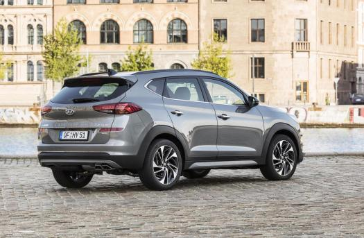 2019 Hyundai Tucson revealed with new 48V mild hybrid ...