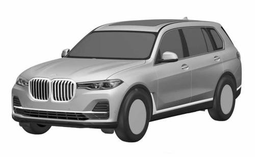 small resolution of bmw x7 patent image front
