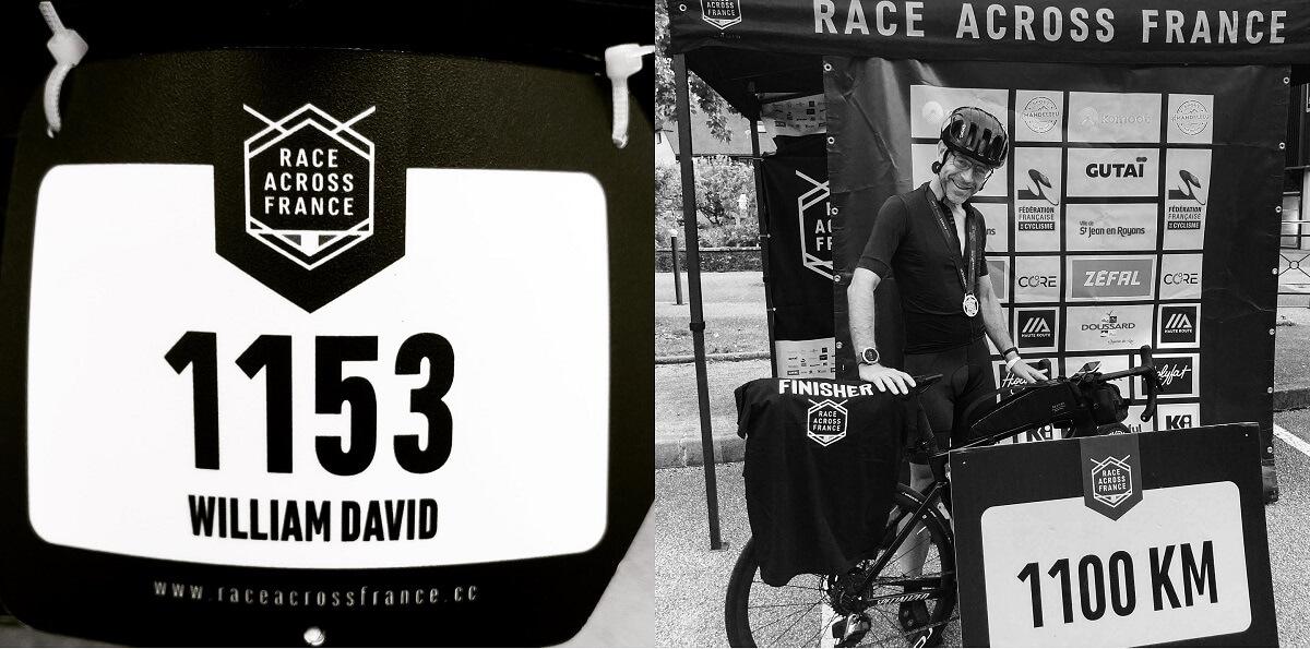 race across france 2021 temoignage William DAVID