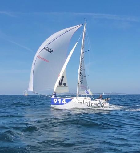 Velotrade Mini 650 Brieuc Lebec Lorient 2021