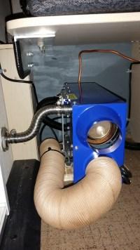 propex furnace in truck camper | Performance Gear Research