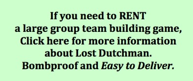 rent a large group team building game
