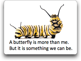 caterpillar butterfly poem