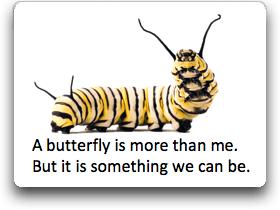 caterpillar butterfly poem