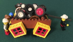Square Wheels image using LEGO by Scott Simmerman