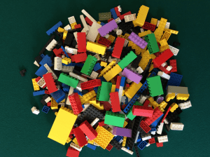 A LEGO Model of how the brain sorts information