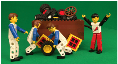 Intrinsic Motivation, Square Wheels and LEGO by Scott Simmerman