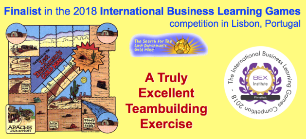 Lost Dutchman is finalist in International Business Learning Game competition 2018