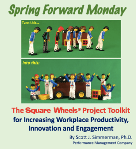 Spring Forward Monday Square Wheels Toolkit for involvement and motivation