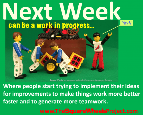 Active workplace improvement starts things rolling