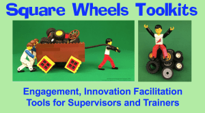 square wheels facilitation toolkits for leadership development