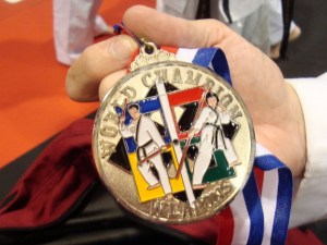 2nd place Worlds 2010 - medal