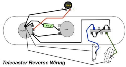 Reversed Telecaster® USA Wiring Harness For Fender Tele