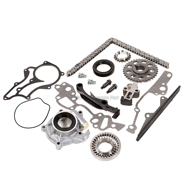 Heavy Duty Timing Chain Kit Oil Pump for 85-95 Toyota