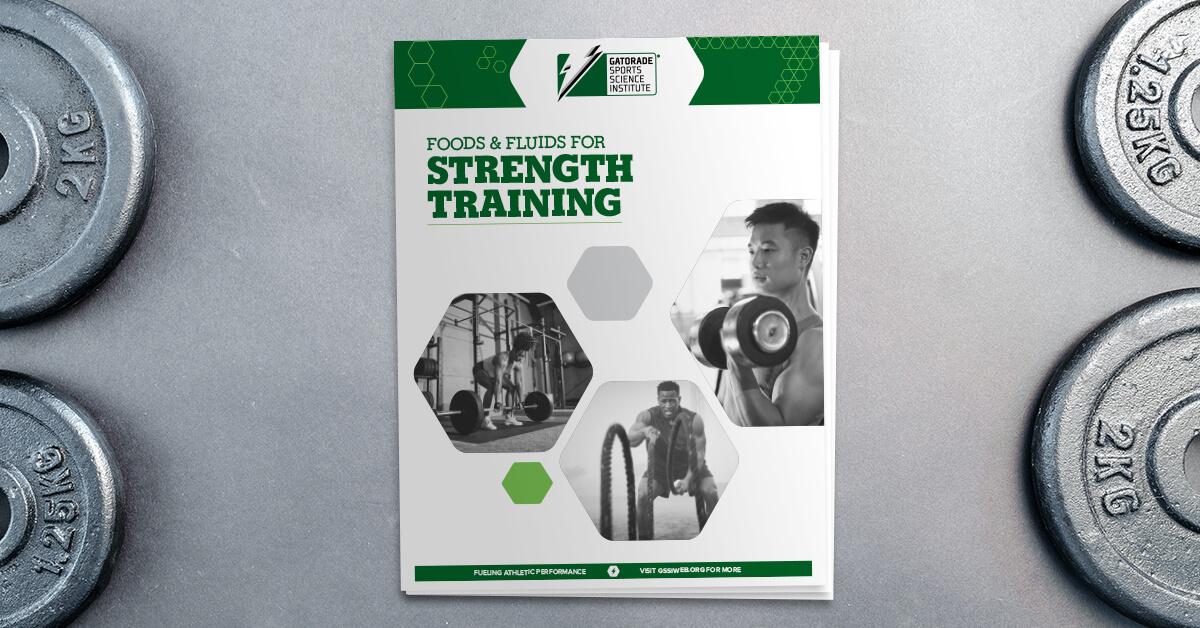 Foods Amp Fluids For Strength Training
