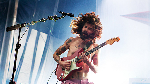 Biffy Clyro - Credit @ Tom Øverlie
