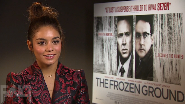 Video interview with Vanessa Hudgens on her role in The Frozen Ground