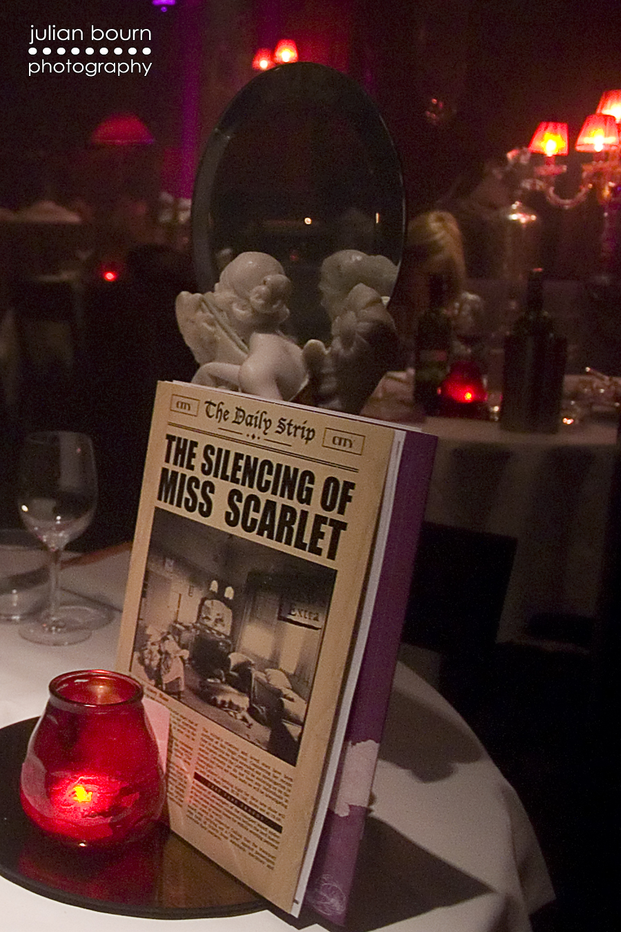 The Silencing of Miss Scarlet at Proud Cabaret City