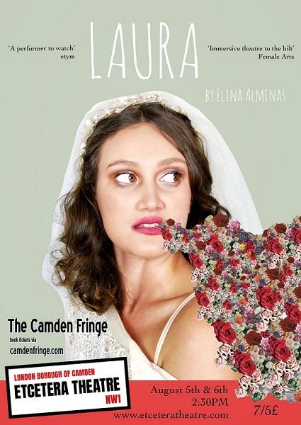 'LAURA' by Elina Alminas, Etcetera Theatre