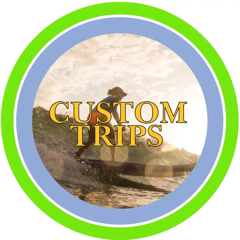 Performance Stand Up Paddle Custom Trips Logo