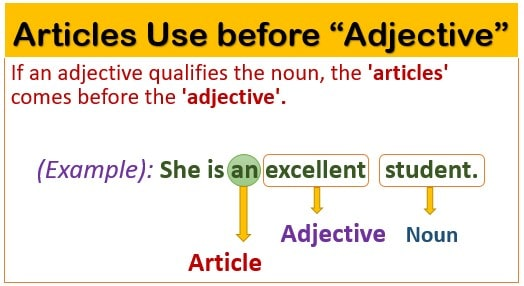 Article a an the uses
