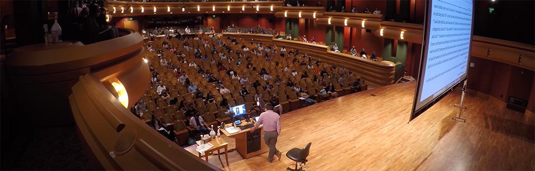 Socially Distanced Leighton Concert Hall