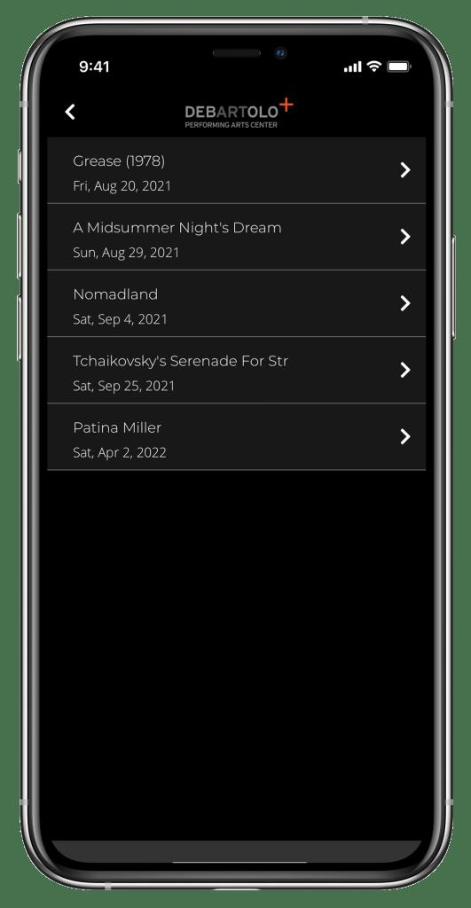 My Tickets App Image