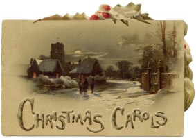 Christmas card to Kreitmayer family, c.1900. [1995.116.394] Performing Arts Collection, Arts Centre Melbourne.