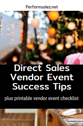 Tips on Direct Sales Vendor Events